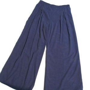 Anthropologie Elevenses Hi waist Wide Leg Pants 8